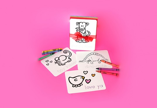 recycled valentines, stubby pencil, valentines day