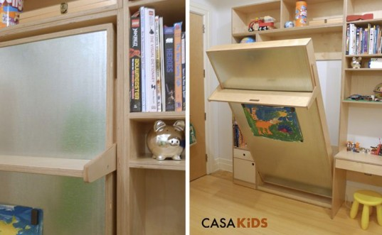 casa kids, CASAKids, eco loft bed, Green Furniture, green kids, Murphy beds, sustainable bed, space saving bed, fold away bed, casa kids tuck bed, tuck collection
