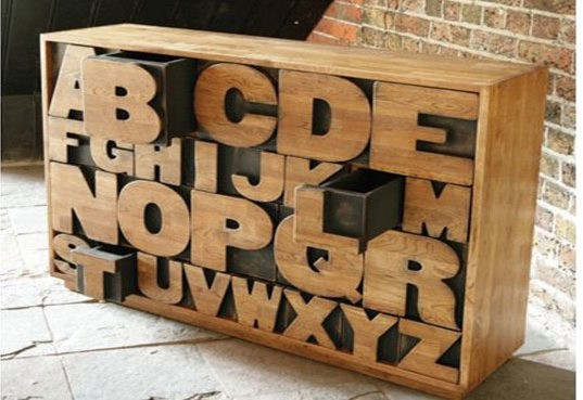 Kids Can Learn Their ABCs in Style With Alphabet Inspired Decor, Toys, Furniture & More