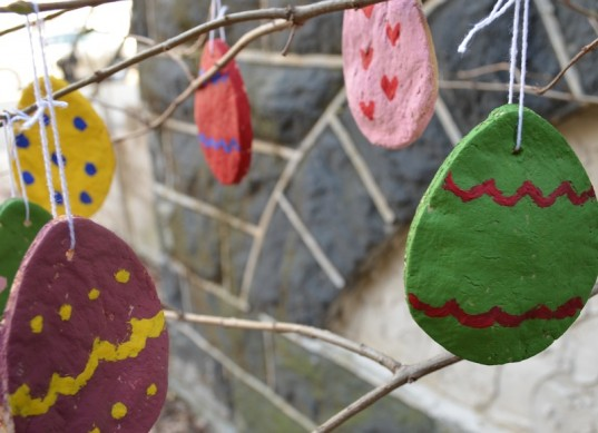 green Easter, diy kids crafts, kid friendly, craft