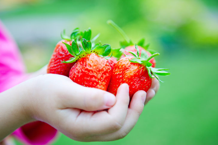 7 fruits and vegetables that are easy for kids to grow in their