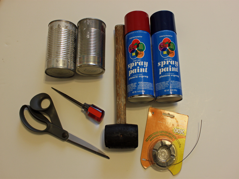 HOW TO: Make Outdoor Lanterns out of Recycled Tin Cans