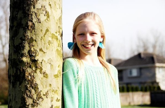 olivia peters, 12 year old's letter to mayor saves city forest, kids helping the planet