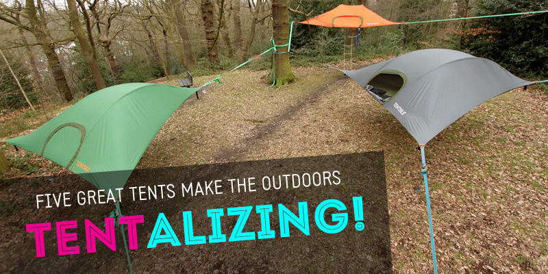 & 5 Great Tents Make the Outdoors Tent-alizing! | Inhabitots