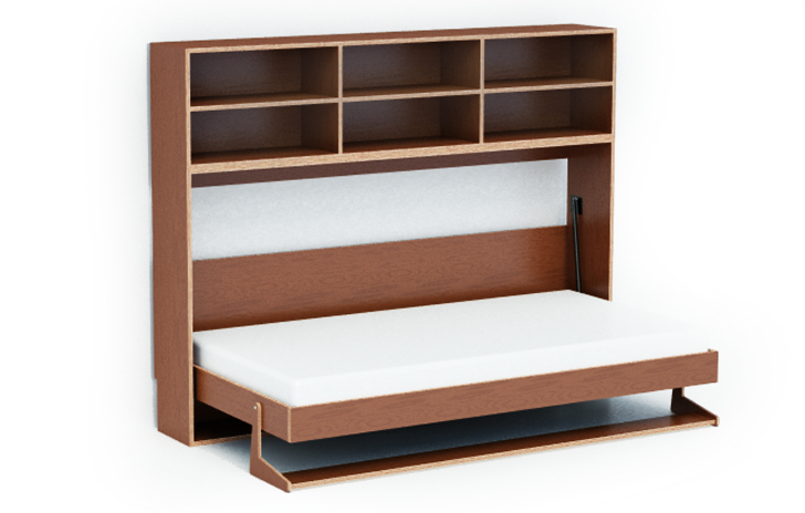 Merveilleux Dumbo Double Tuck Bed Packs Two Folding Beds Into One Wall Unit | Inhabitots