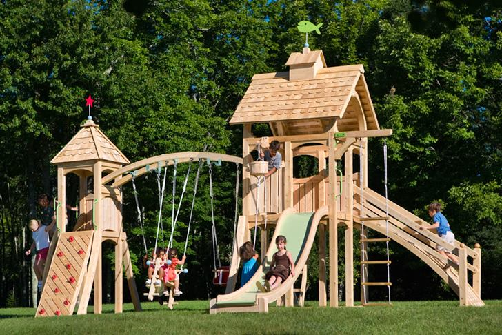 Exceptionnel CedarWorksu0027 Eco Friendly Outdoor Playsets Fit Every Space And Budget |  Inhabitots