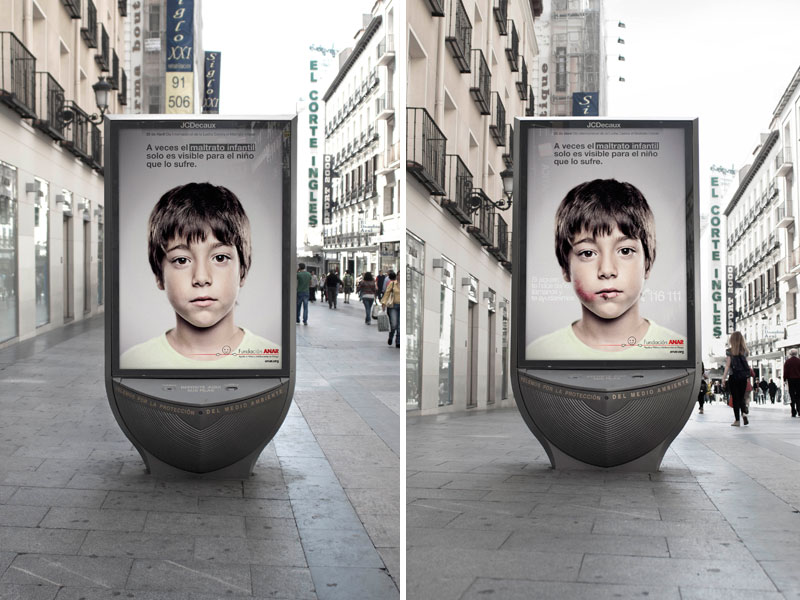 Child Abuse Prevention Ad Delivers Secret Message Only Kids Can See