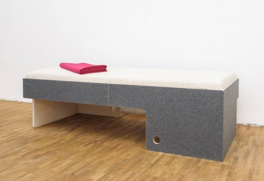 daybed, child's bed, eco furniture, eco bed, birch bed, sustainable furinture, sustainable bed, birch beds, Perludi, sustainable kids, wool bed