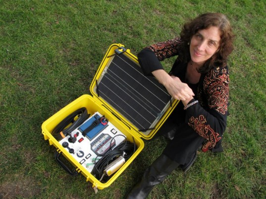 solar suitcase, wecare solar, dr. laura stachel, hal aronson, birth, developing nations, light