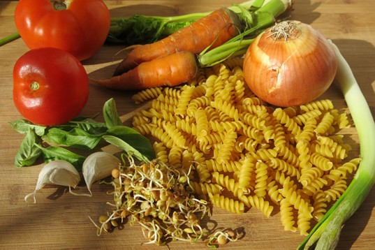 Lentils sprouts, pasta, bolognese, vegan, sauce, protein, tomatoes, cooking, food, recipe, vegan cooking