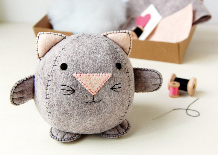 Create Your Own Plush Toys Finger Puppets With Sewing Kits From