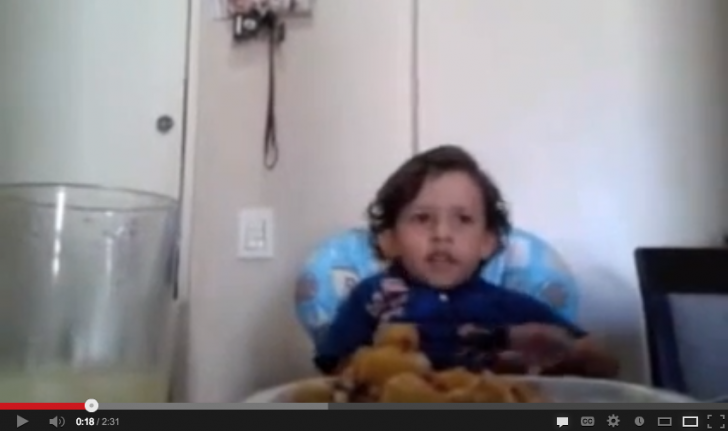 Young Boy Beautifully Explains Why People Should Not Eat Animals in Poignant Video