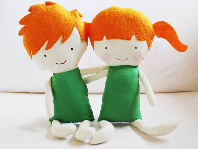 Kids Can Create Their Own Cloth Dolls with Elf Pop\'s Sweet Sewing ...