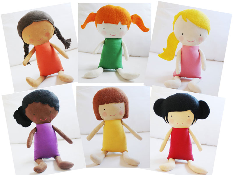 Kids Can Create Their Own Cloth Dolls With Elf Pops Sweet Sewing