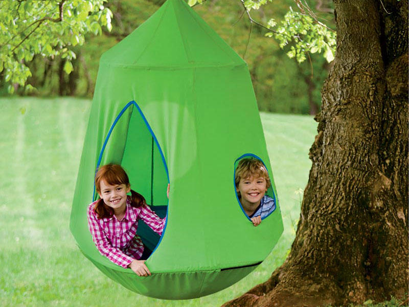 eco play  sc 1 st  Inhabitat & The HugglePod HangOut is a Perfect Haven for Summer Days | Inhabitots