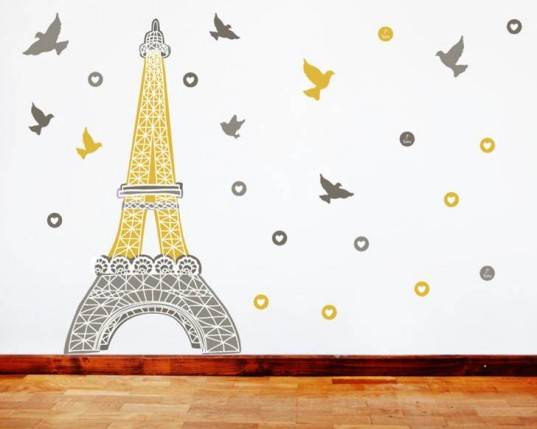 Eco Kids Wallpaper Fabric Wall Stickers Green