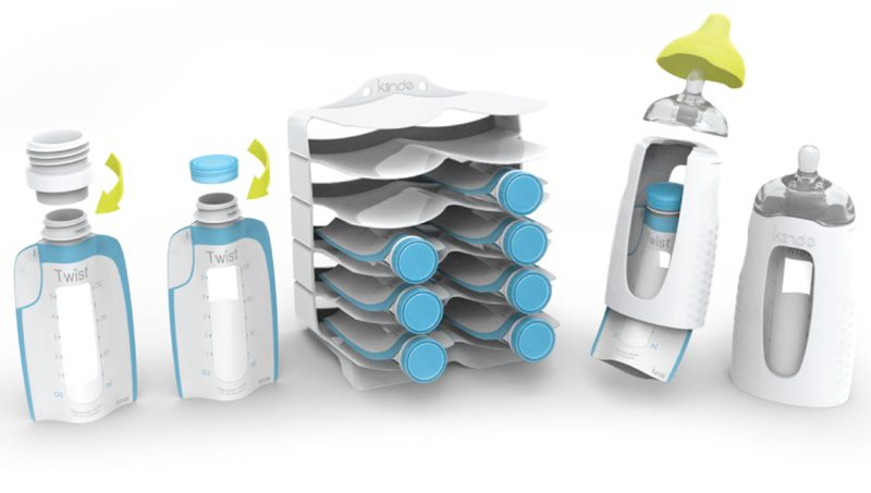 Kiinde Twist Enables Moms To Transfer T Milk From Pump Bottle Without Losing A Precious Drop Inhabitots