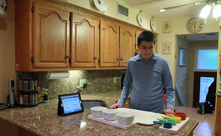 Match Cooking Prep System Helps People with Autism Spectrum Disorder Prepare Meals
