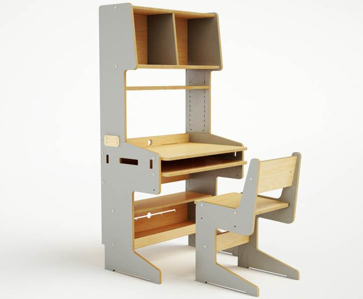 Casa Kids ConnectMe Desk And Chair Bring Style To Homework Time
