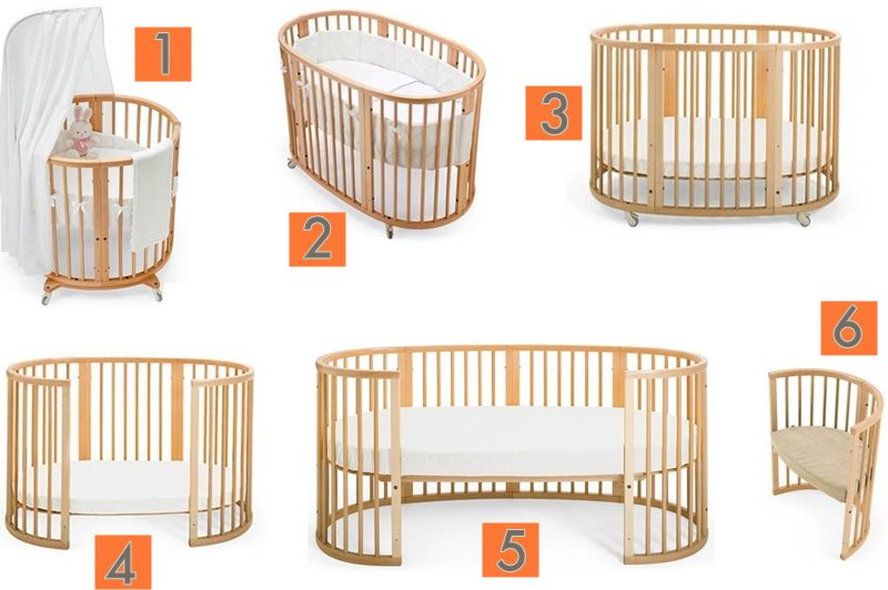Stokke Sleep System Grows With Your Child From Birth To