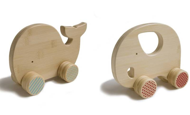 Push Toys For Toddlers : Petit collage debuts darling wooden bamboo push toys inhabitots