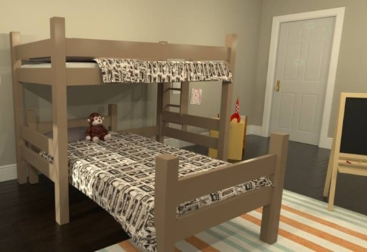 maine bunk beds, bunk beds, eco kids furniture, eco-friendly furniture, green kids furniture, twin beds, triple bunk beds, loft bed, sustainable bed