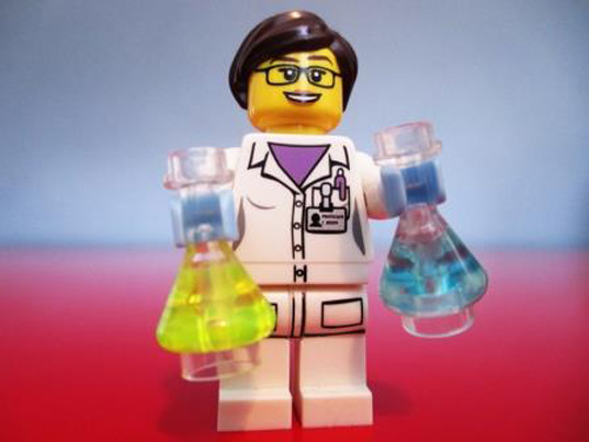 green design, eco design, sustainable design, LEGOs, Female LEGO scientists