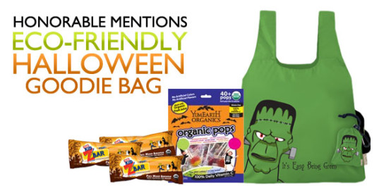 Inhabitat Green Halloween Contest Prize, Chico Bags, Goodie Bags