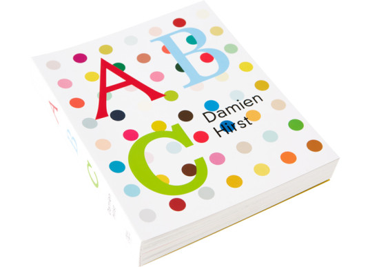 green design, eco design, sustainable design, Damien Hirst, ABC Books, childrens books, typography books, unconventional children's books