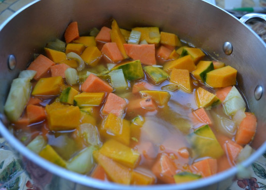 seasonal veggie soup, kid-friendly, soup, recipe