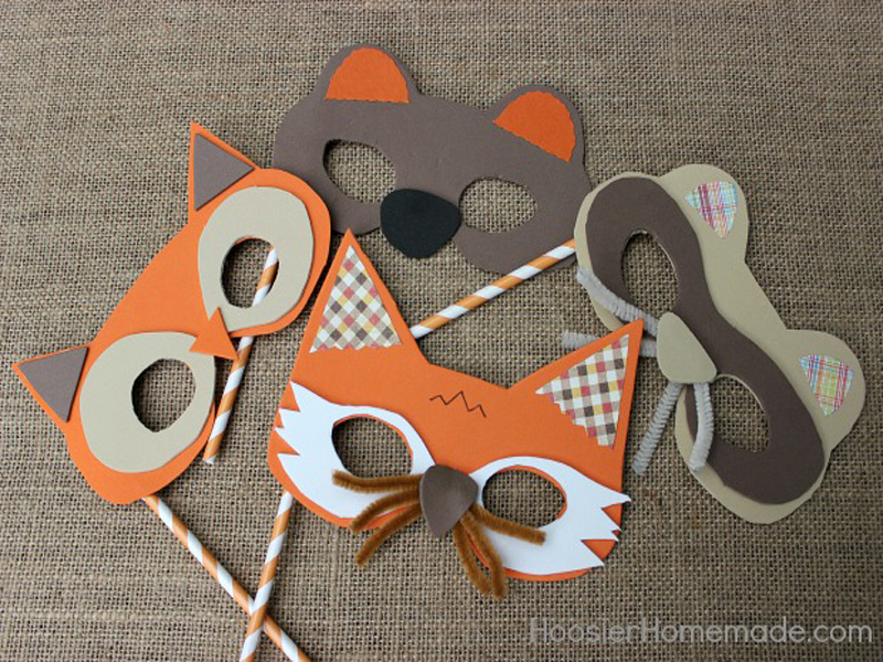 9 DIY Halloween Masks to Make with Your Kids | Inhabitots