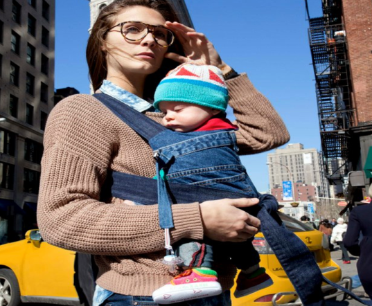 Rewear, rewear nyc, baby carriers, organic baby carriers, eco friendly baby carriers, eco friendly baby carriers, baby wraps, sustainable baby carriers, recycled baby carriers, baby carriers nyc, Ellen Pande-Rolfsen, Maren Lyngo Einvik, Baby Carrier Industry Alliance