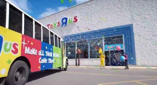 toyrs r us, ad campaign, the escape pod, outdoor play