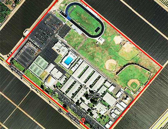 rio mesa high school, oxnard, california, pesticide contamination, methyl bromide