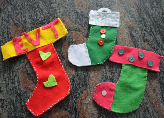 christmas stockings, stockings, how-to, kid friendly
