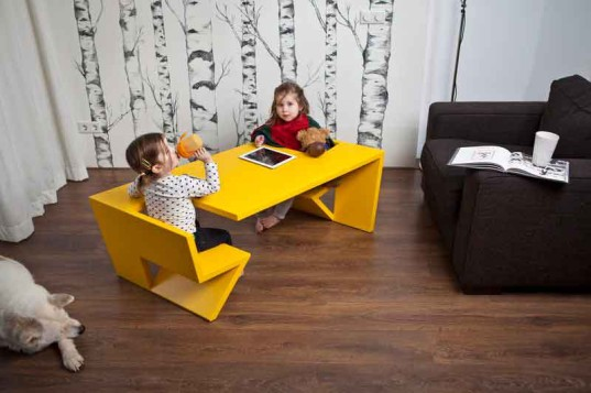 salon/kids table, thomas laurens, kids furniture, modern design