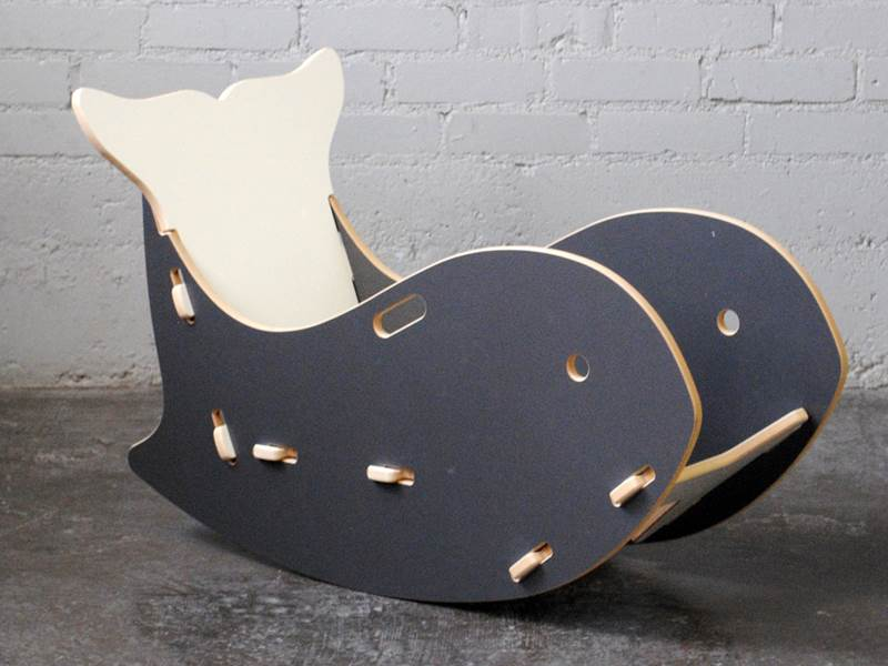 Kids Can Make Quite A Splash In The New Whale Chair From Sprout. This  Cleverly Designed Chair Is Modern But Playful, Resembling A Rocking Whale  Who Lives ...