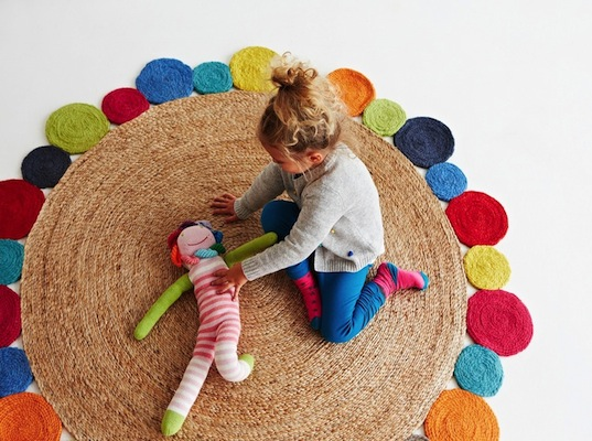 Armadillo Amp Co S Kids Rugs Combine Floral Flair With Fair