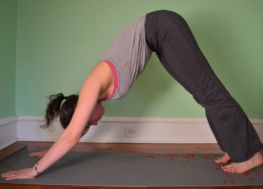 downward dog, basic yoga poses, stretching., parenting