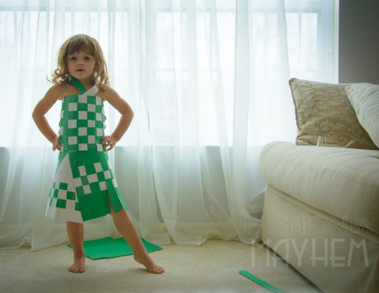 diy kids fashion, green family, kid friendly, crafts