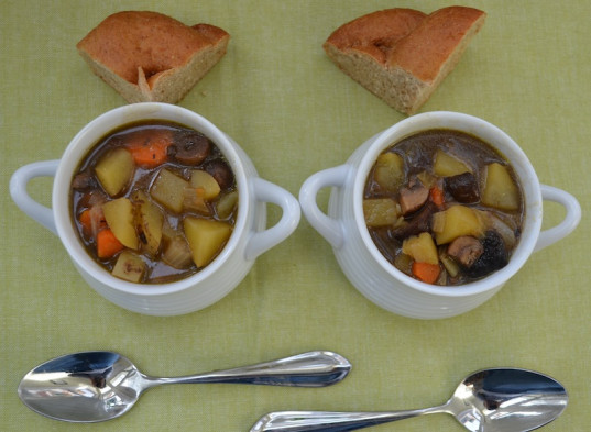 vegan Irish stew, vegan stew, St.Patrick's Day recipe, vegan cooking