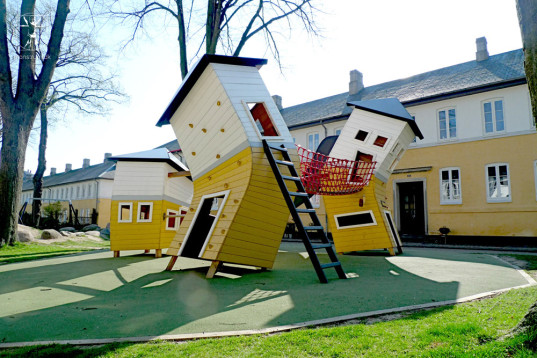 unusual playgrounds, international playgrounds, playgrounds around the world, best playgrounds, top playgrounds, Monstrum, playgrounds in Copenhagen, Brumbleby Park