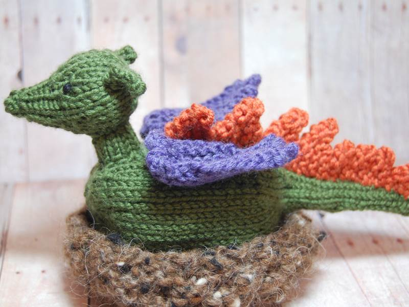Ferociously Cute Knit Dragons Will Charm Your Child Inhabitots