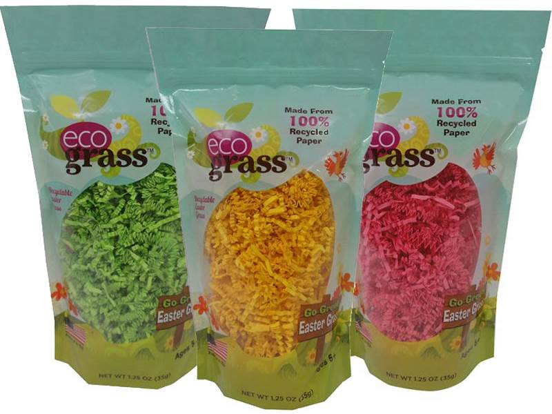 Fabulous Eco Easter Basket Filler - recycled paper easter grass | Inhabitots GP55