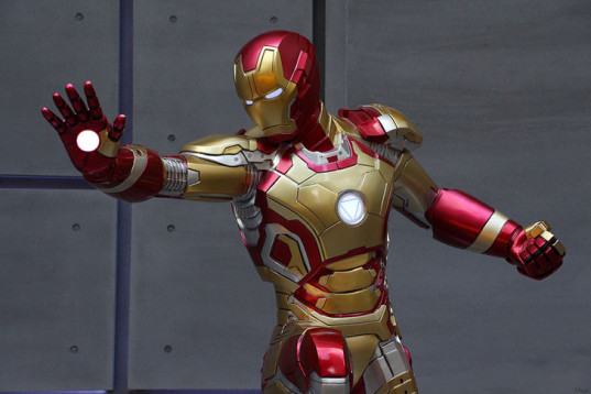 green design, eco design, sustainable design, home made Iron Man costume, DIY costume, Chu Huan