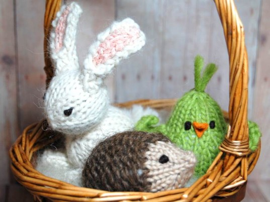 Adorable waldorf trio of spring critters nestles nicely into adorable waldorf trio of spring critters nestles nicely into easter baskets inhabitots negle Gallery