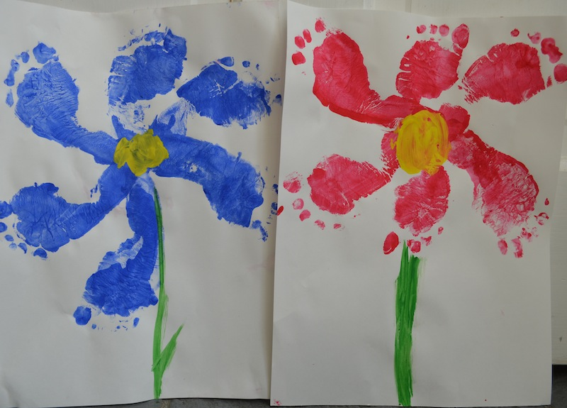 6 flower inspired arts and crafts projects to welcome spring foot flowers craft diy kids crafts spring crafts mightylinksfo