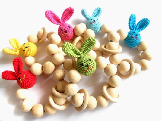 6 sweet handmade gifts for babys easter basket inhabitots baby easter baby food allergies can baby have easter eggs easter egg toy negle Choice Image