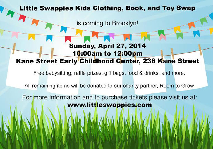c14023283 NYC PARENTS  Little Swappies is Hosting a Kids Clothing
