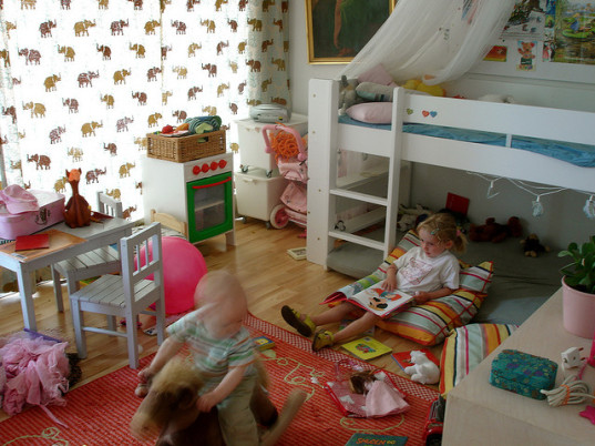 playroom, childcare, babysitting co-op, kids playing, playroom